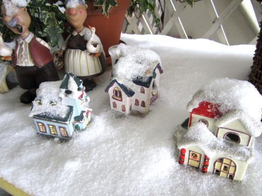 雪ミニハウス
